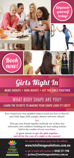 Girls night in hens night mothers group